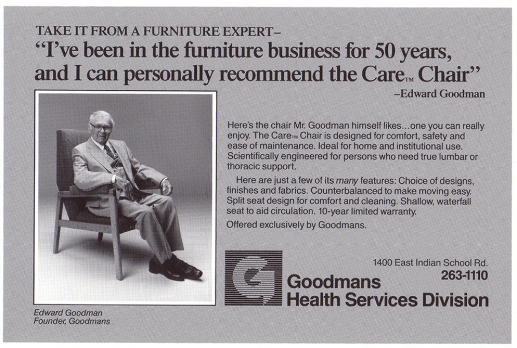 Edward Goodman ad