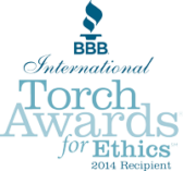 Better Business Bureau International Torch Award for Ethics