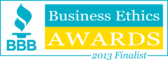 Better Business Bureau Business Ethics Award