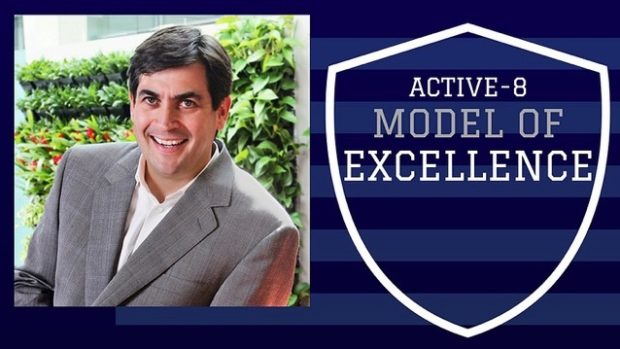 Adam Goodman is an Active-8 Model of Excellence!