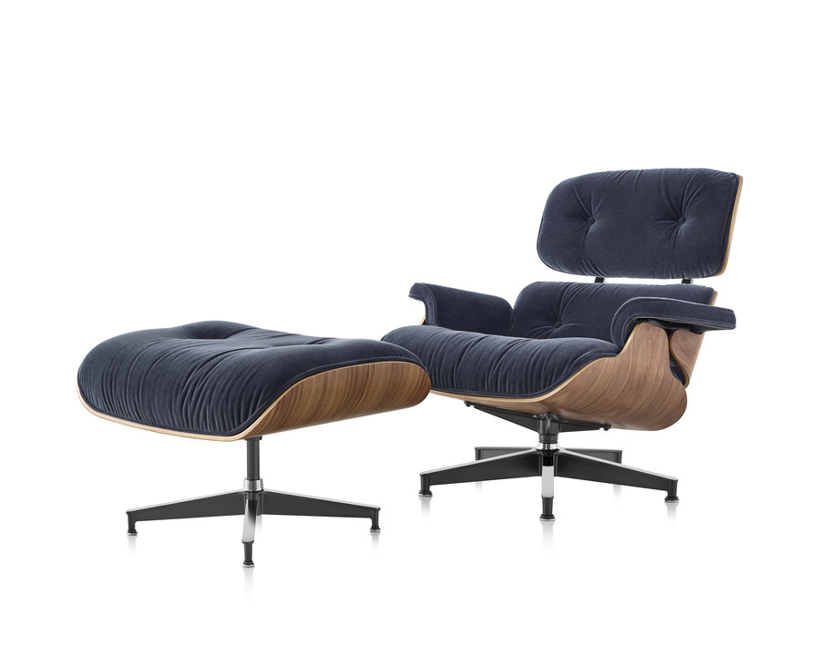 Eames lounge chair and ottoman goodmans - Eames chaise lounge chair ...
